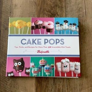 Other - Cake pop cook book